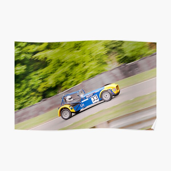 Caterham at speed Poster