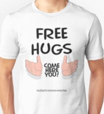 FREE HUGS!!! Slim Fit T-Shirt