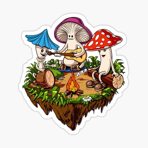Hippie Magic Mushroom  Sticker