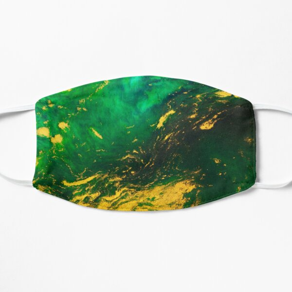 Emerald and Gold Mask