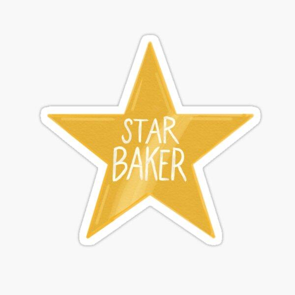 Star Baker (GBBO) Sticker