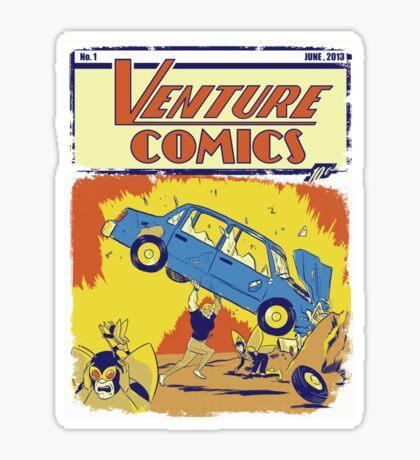 Venture Comics Sticker