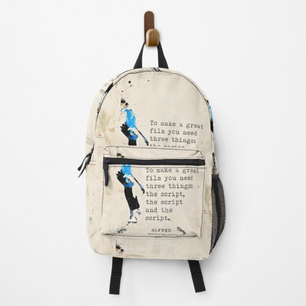 Alfred H. quote  Backpack