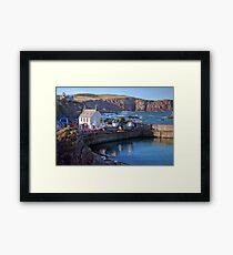 Looking Over St Abbs Towards St Abb's Head Framed Print