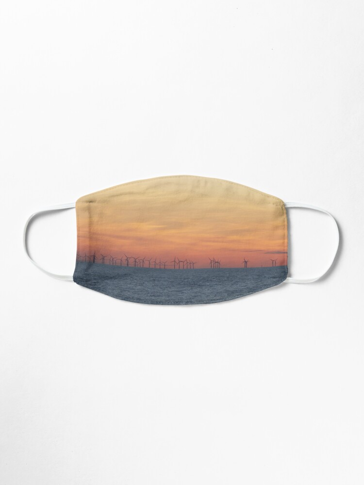 Alternate view of Sunsets Over the Burbo Bank Wind Farm Mask