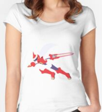 Protoman EXE Women's Fitted Scoop T-Shirt