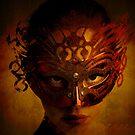 Bal Masque - Masked Portrait Art by Galen Valle