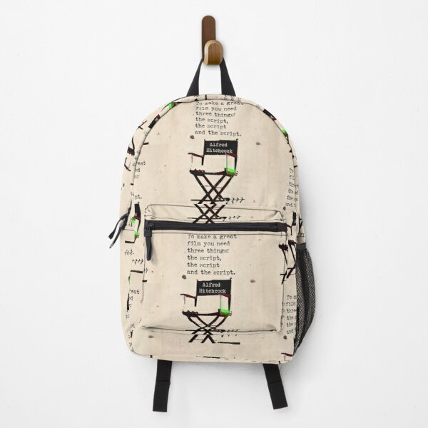 Alfred H. about great film quote Backpack