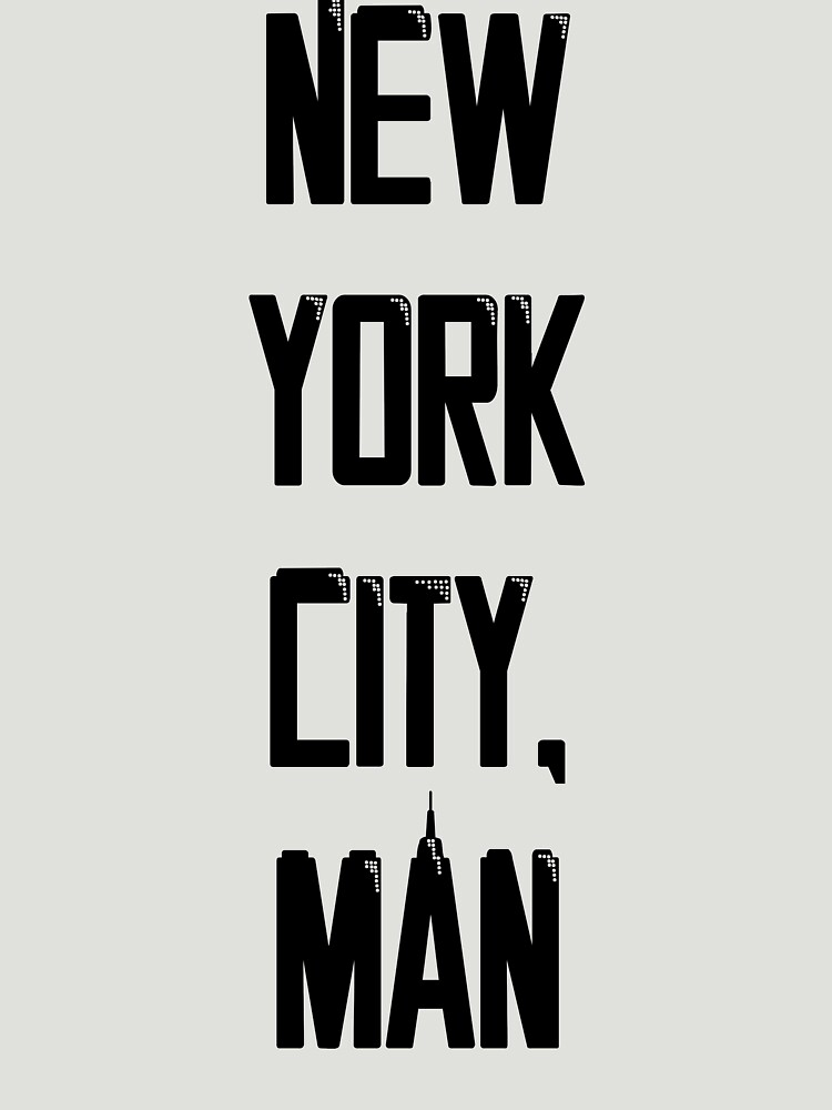 New York City, Man by BrantMHudgins