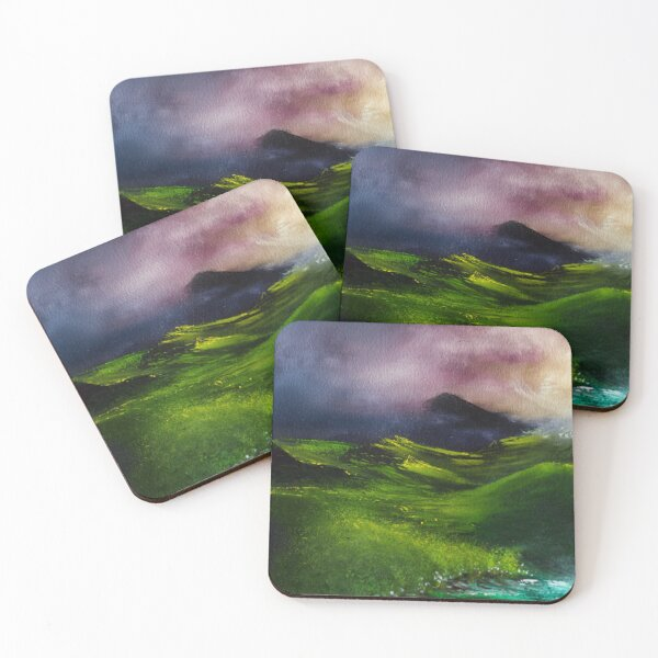 View from Home Coasters (Set of 4)