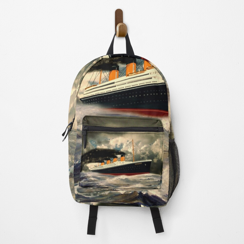 RMS Titanic the Legend 1912 Backpack