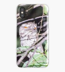 Marbled Frogmouth iPhone Case/Skin