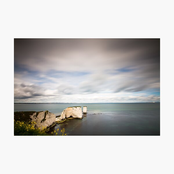 The Old Harry Rocks Photographic Print