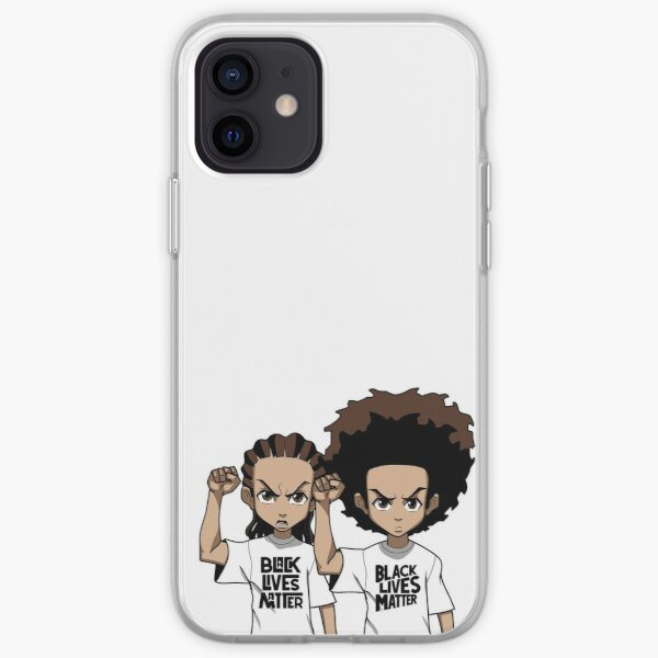 Riley And Huey Freeman Protesting iPhone Soft Case