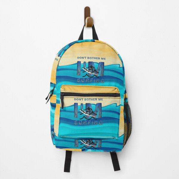 I'm Surfing Backpack