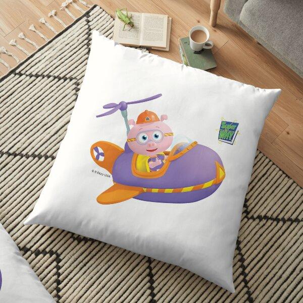 Super WHY! Alpha Pig Plane Floor Pillow