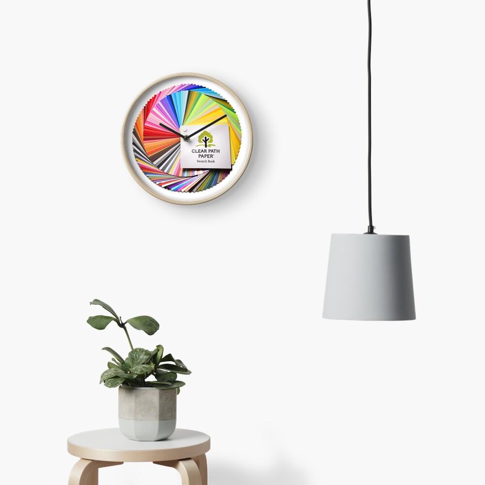 Swatch Book Clock