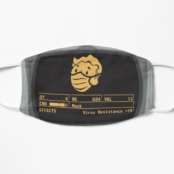 Tan Pip Boy Mask Mask