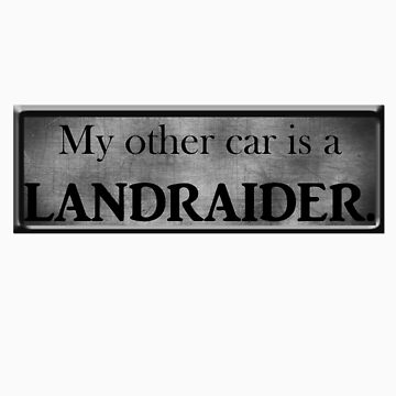 My Other Car is a LandRaider by herbertron