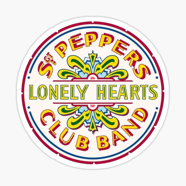 Sgt. Peppers Lonely Hearts Club Les Beatles Sticker