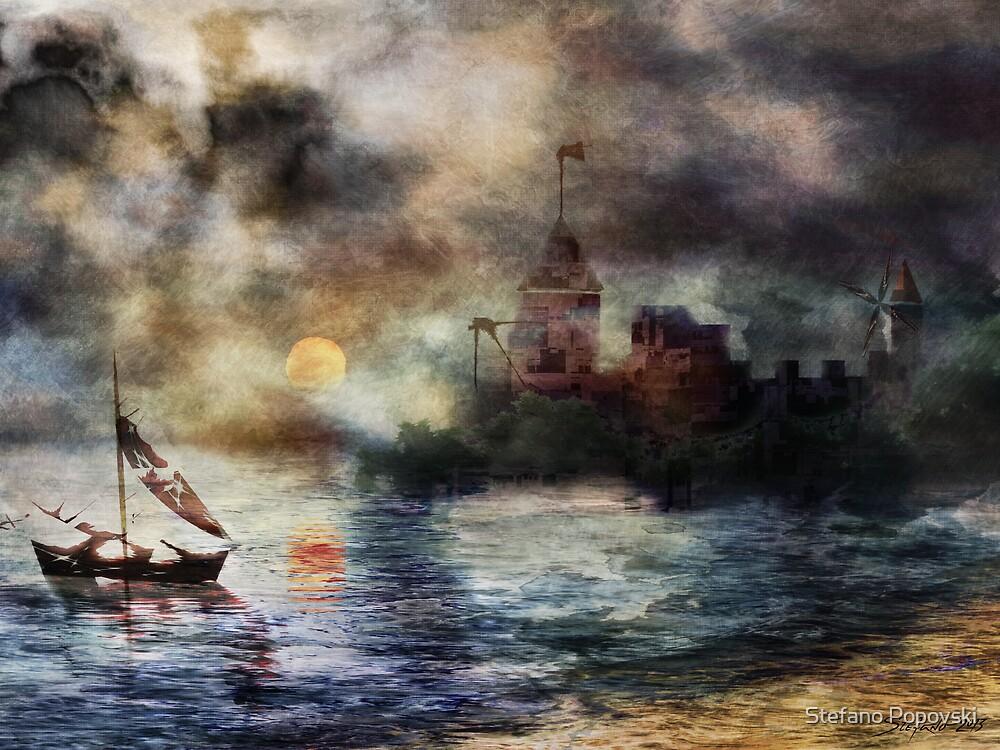 The Somnolent City II by Stefano Popovski