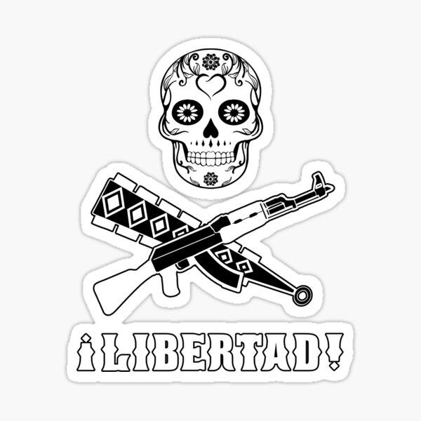¡lLibertad! Sticker