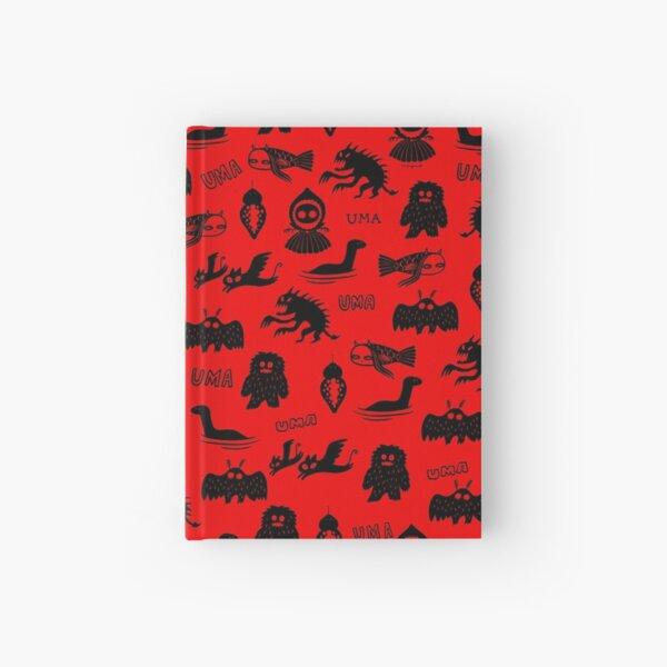 UMA - red Hardcover Journal