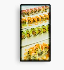 JIRO DREAMS OF SUSHI.. Canvas Print