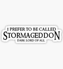 Stormageddon Sticker