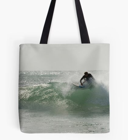 Straddie surfer Tote Bag