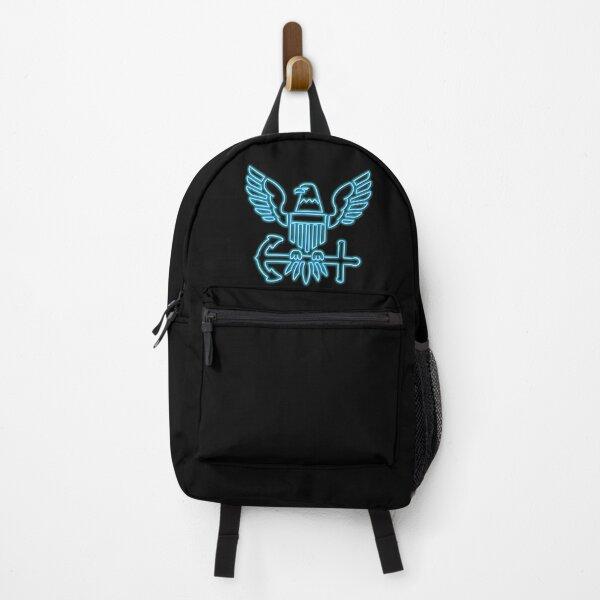 Neon US Navy Emblem Backpack