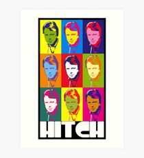 Christopher Hitchens - poster boy of atheism? Art Print
