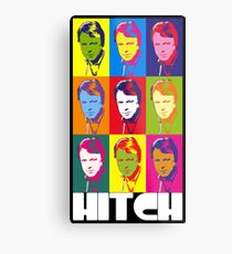 Christopher Hitchens - poster boy of atheism? Metal Print
