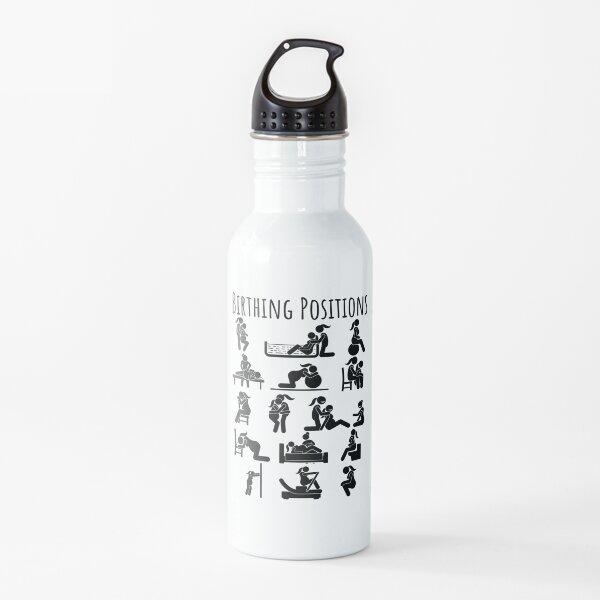 Birthing Positions Female Partner  Water Bottle