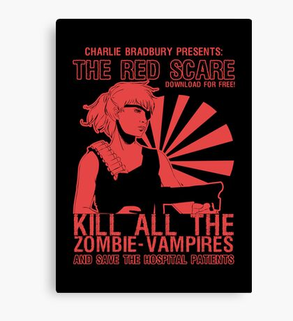 The Red Scare (1) Canvas Print