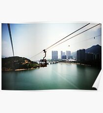 Cable Car Ride - Lomo Poster