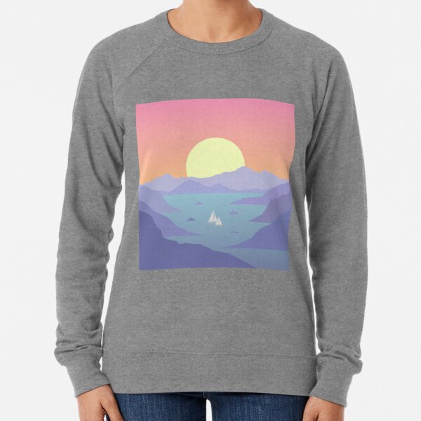 Surfaces Horizon Album Cover Lightweight Sweatshirt