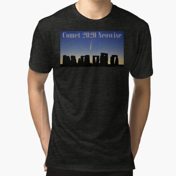 Comet Neowise Tri-blend T-Shirt