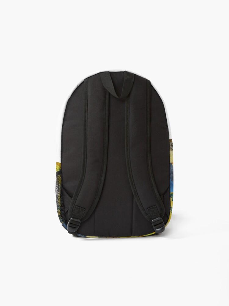 Alternate view of Van Gogh Collage Backpack