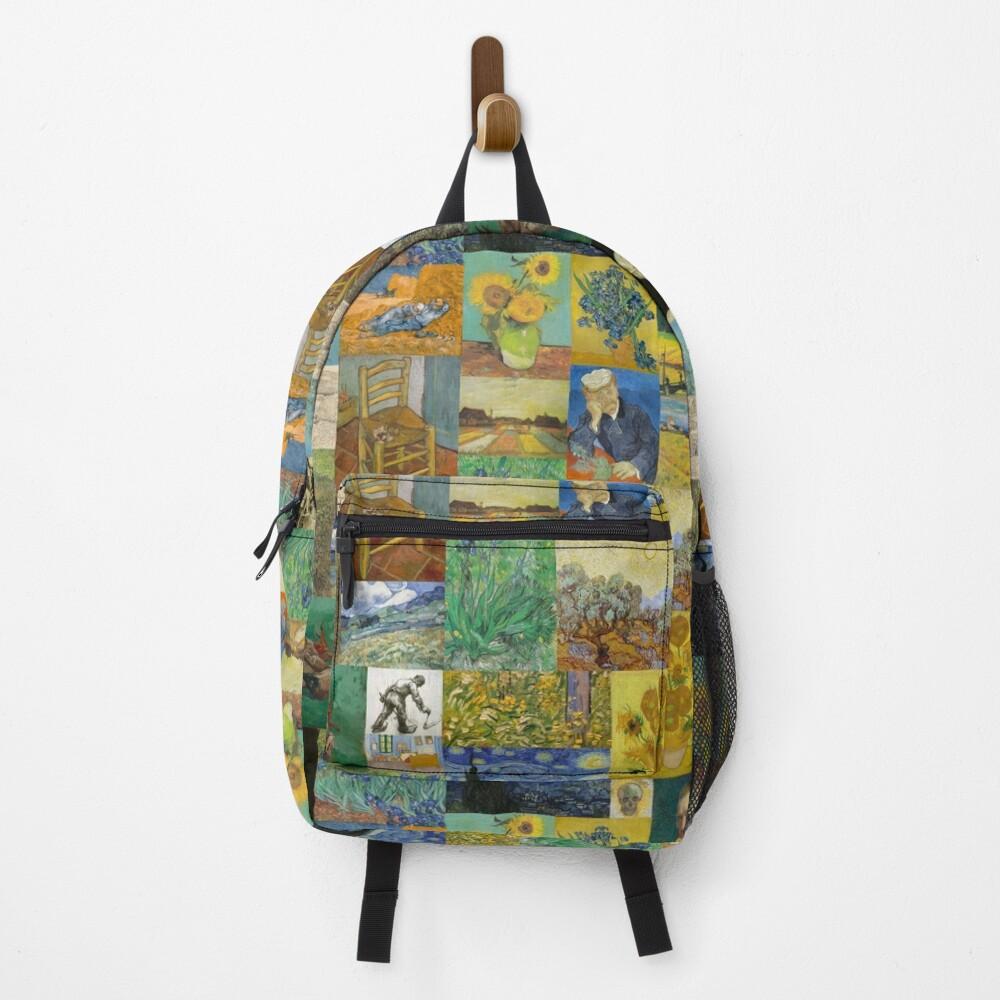 Van Gogh Collage Backpack