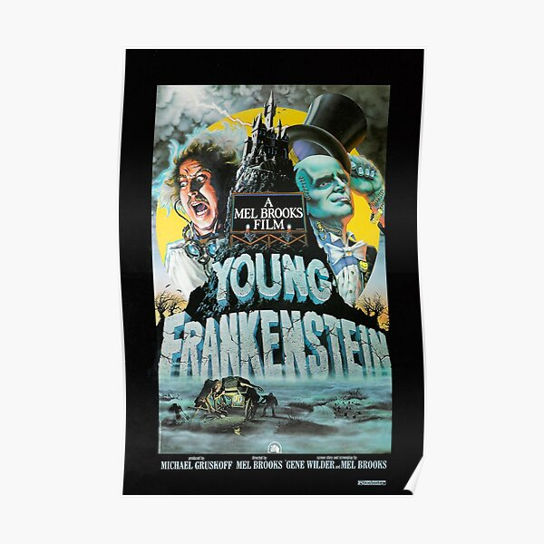 Young Frankenstein 1974 Movie Poster Print. Poster