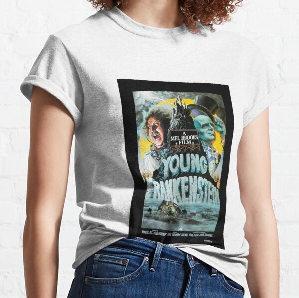 Young Frankenstein 1974 Movie Poster Print. Classic T-Shirt