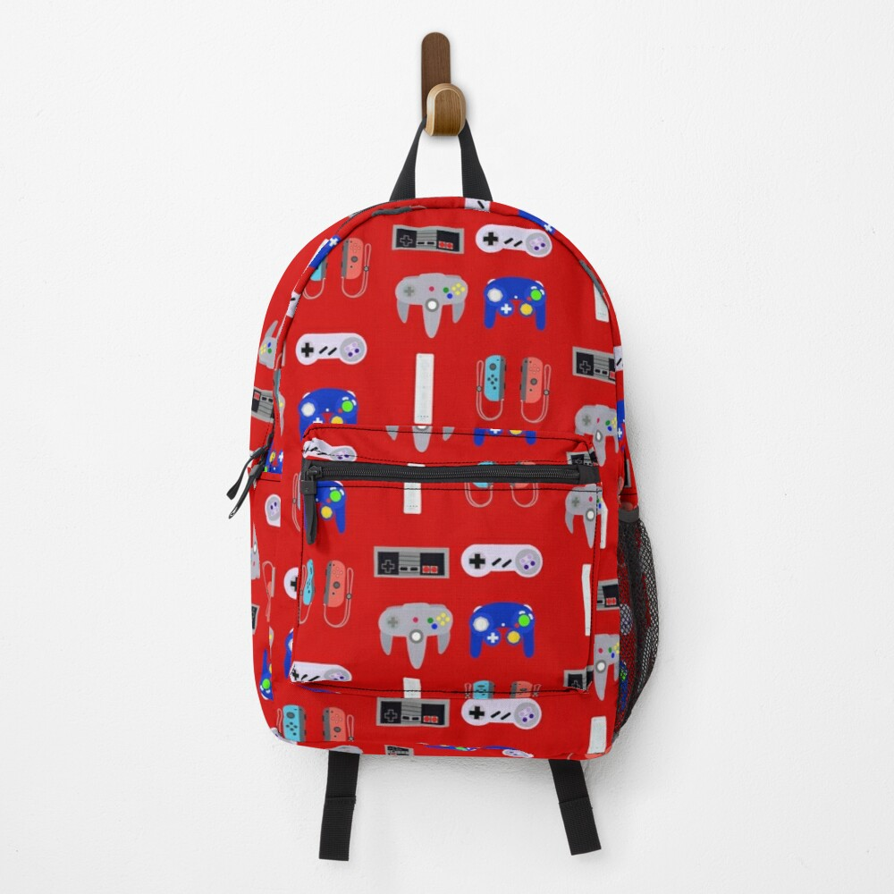 Video Game Controllers 4 Backpack