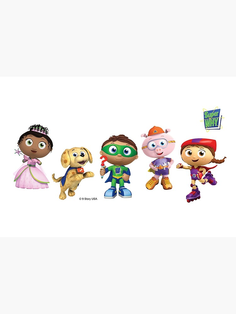 Super WHY! Super Readers Group by superwhy