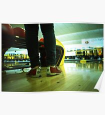 These Shoes Are Meant For Bowling - Lomo Poster