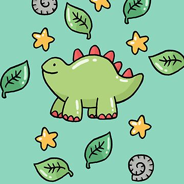 Cute Dino Phone Case by VenkmanProject