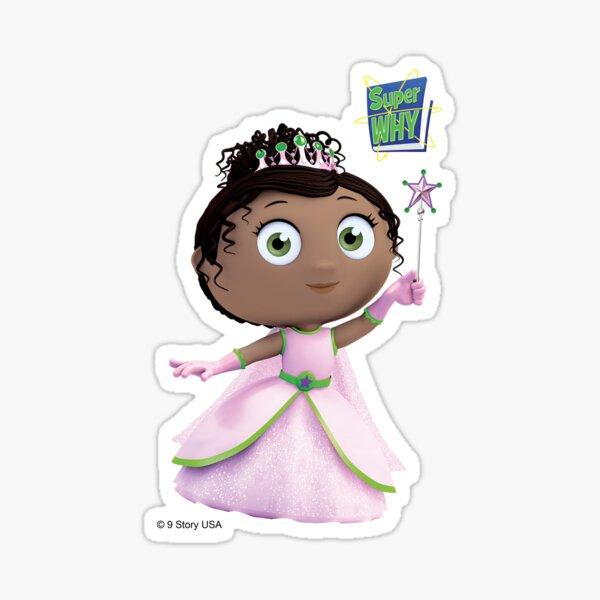 Super WHY! Princess Presto Sticker