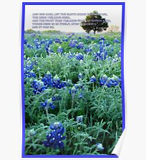Let The Earth Bring Forth Grass. . . Poster