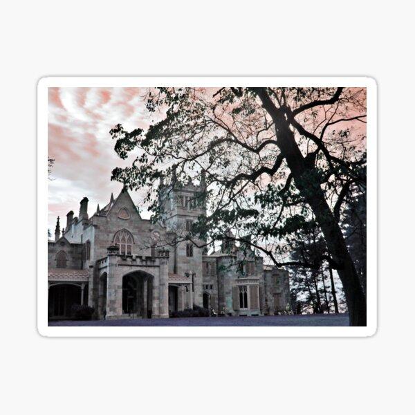 Collinwood of Dark Shadows (Lyndhurst Castle) Sticker