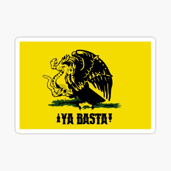 ¡Ya Basta! Sticker